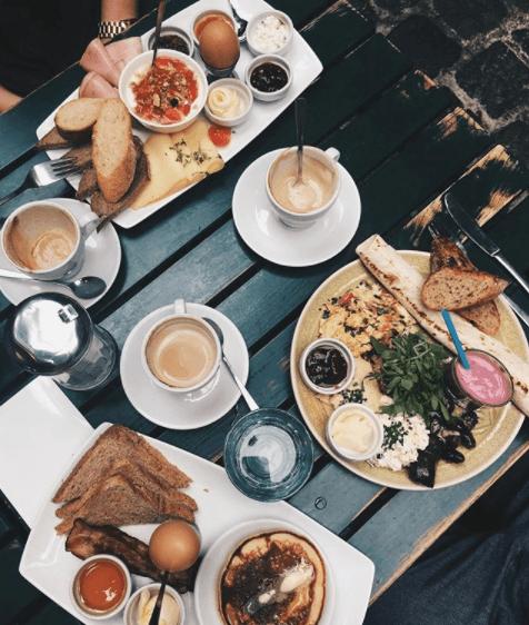 Amerlingbeisl Frühstück in Wien
