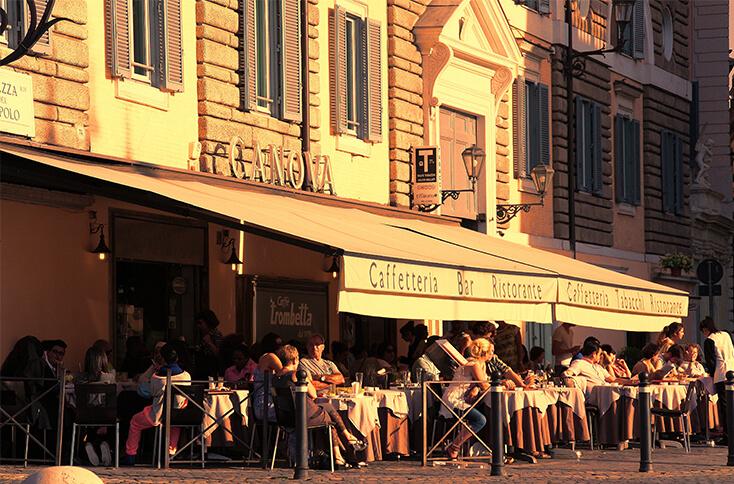 Location für Cafe Eröffnung