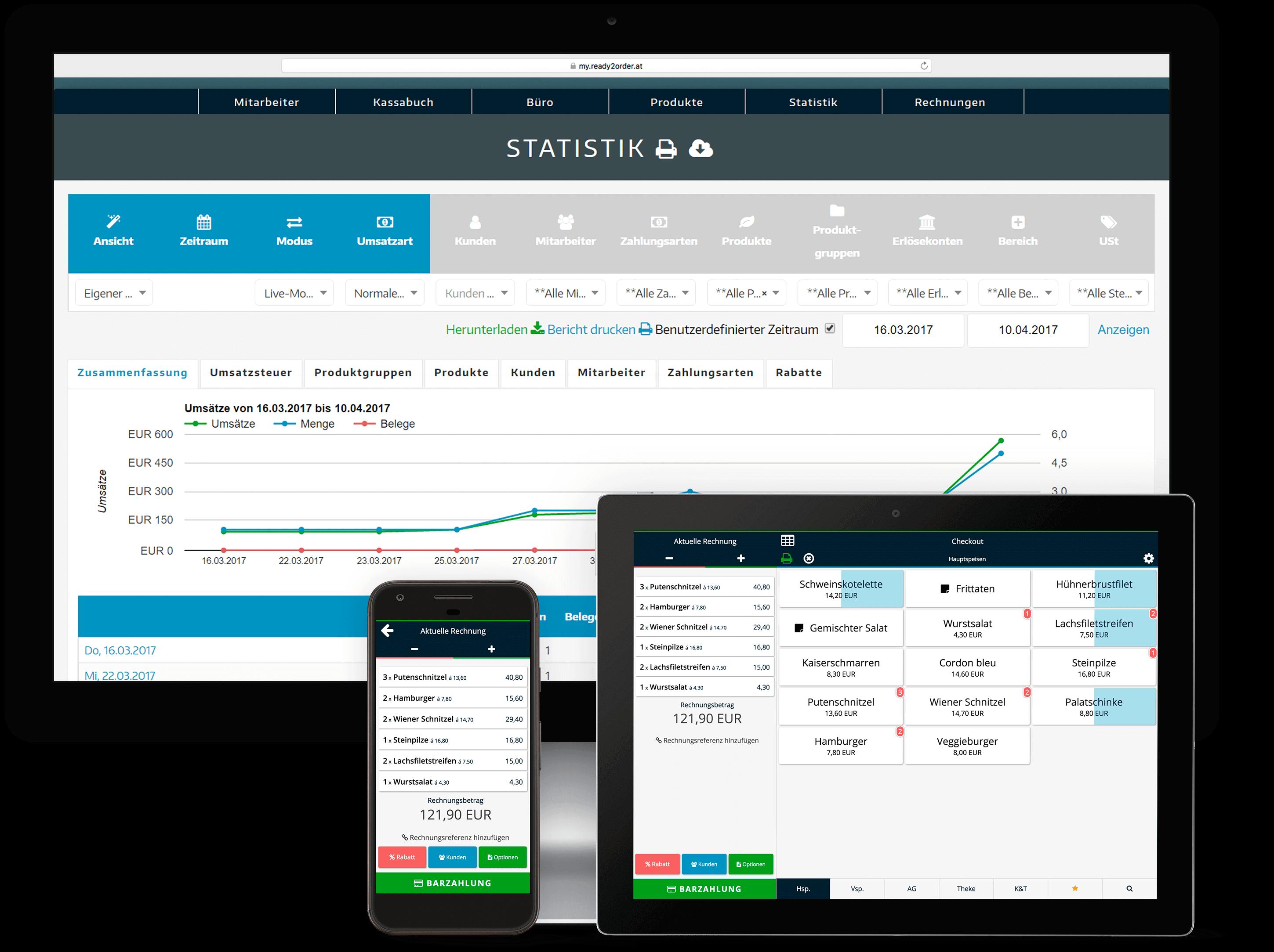 Plattformunabhängige Kasse