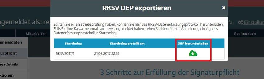 RKSV-Datenerfassungsprotokoll
