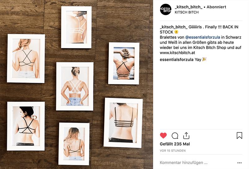 Instagram-Promotion-Kitsch-Bitch