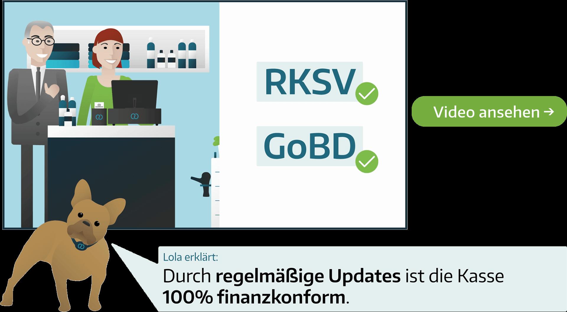 GoBD konforme Registrierkasse