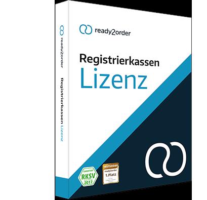 Kassensystem Lizenz für Registrierkassen