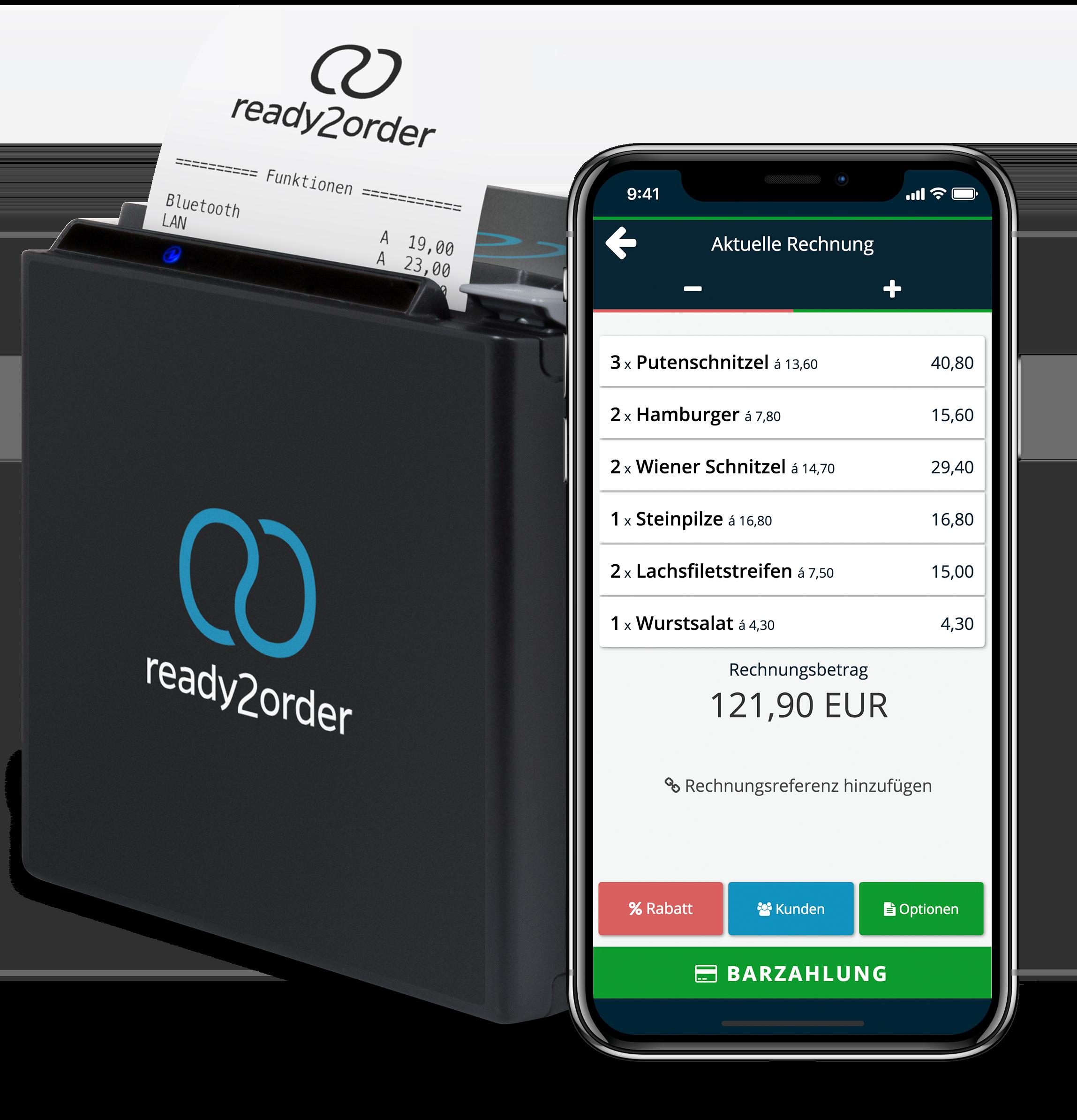 Kassensysteme Mobile App