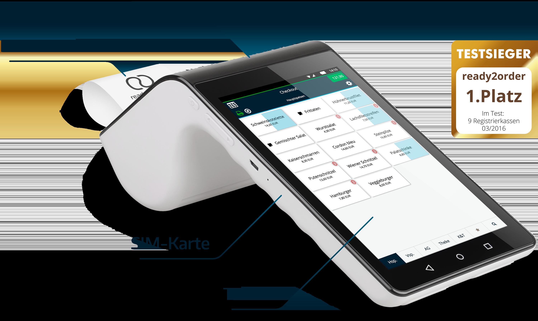 Mobiles Kassensystem All in One 4G