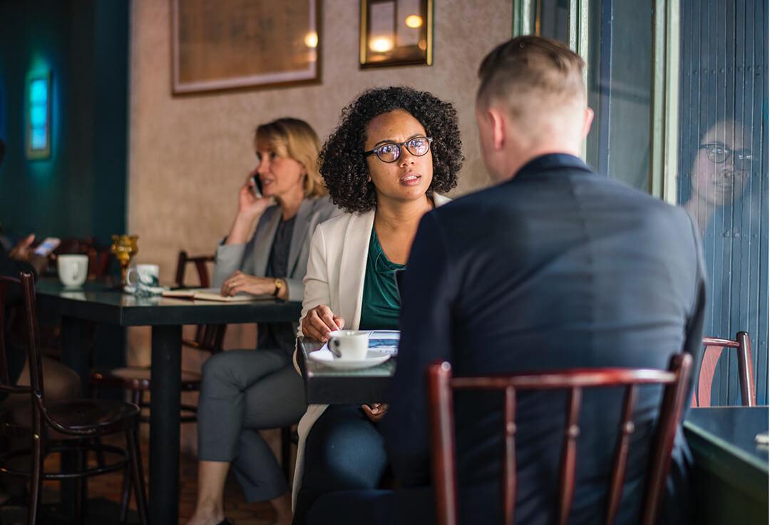 Diskussionsfreudiger Kundentyp