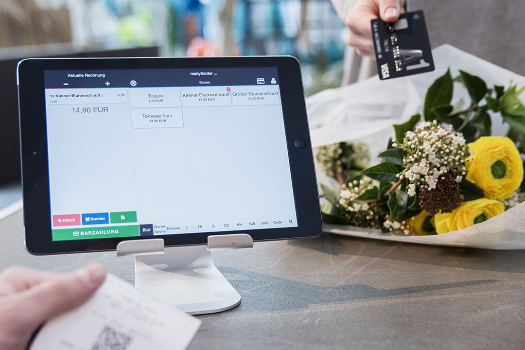 Kreditkartenzahlung mit ready2order
