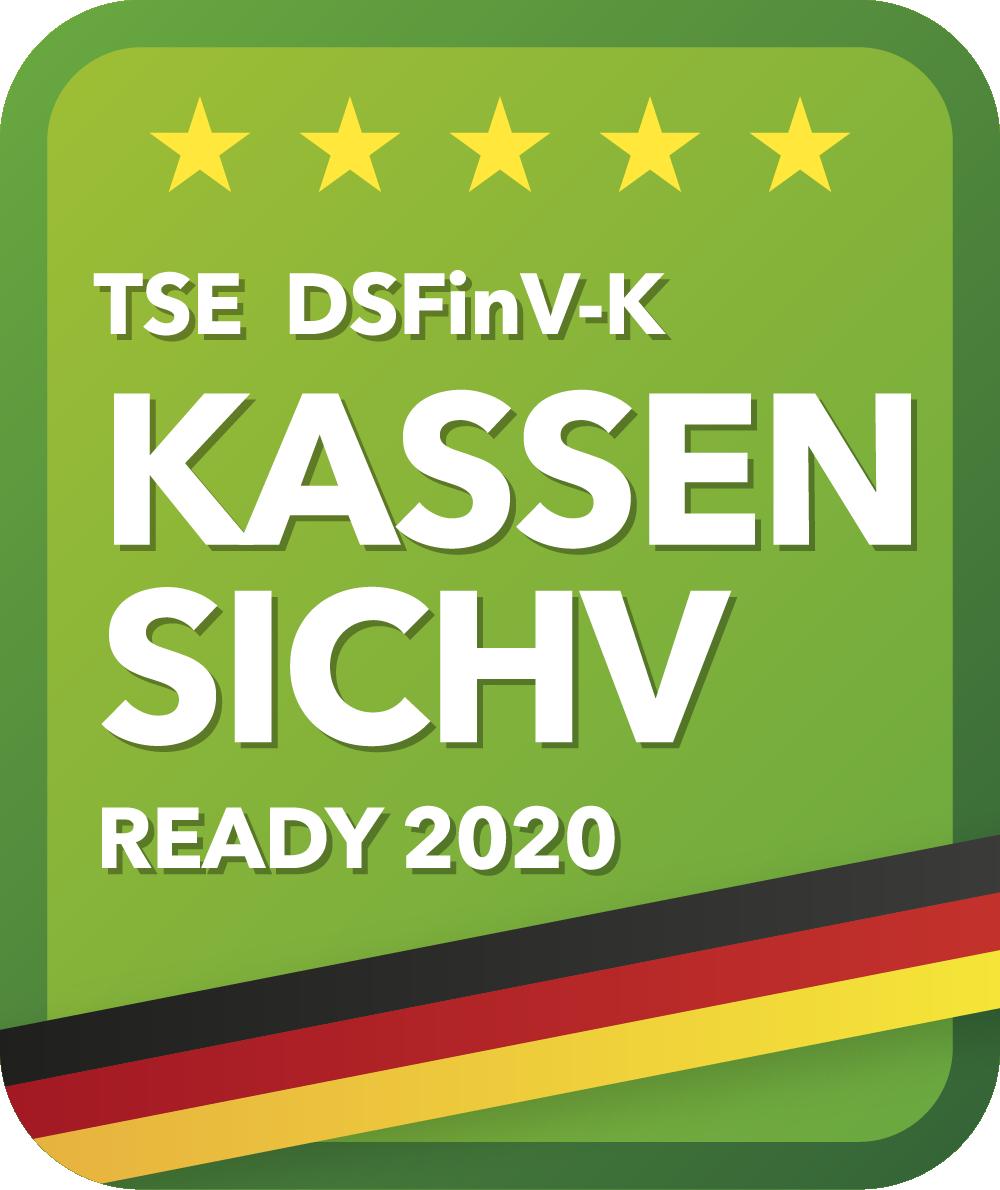 Kasssensicherungsverordnung Logo ready2order
