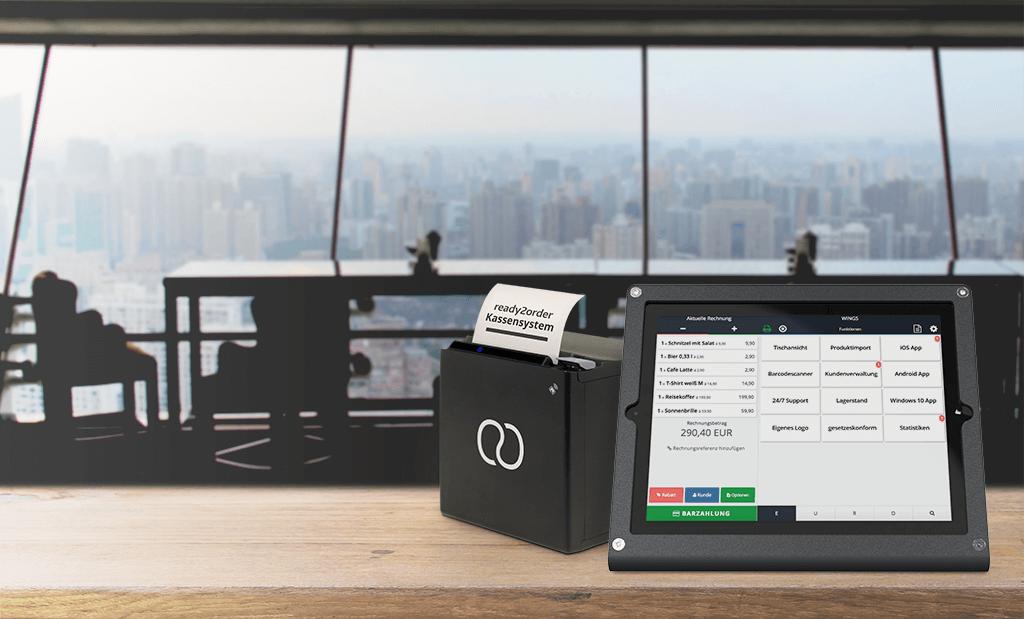 ready2order Kassensystem mit Tablet App