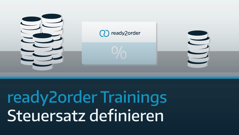 ready2order-Steuersatz-definieren