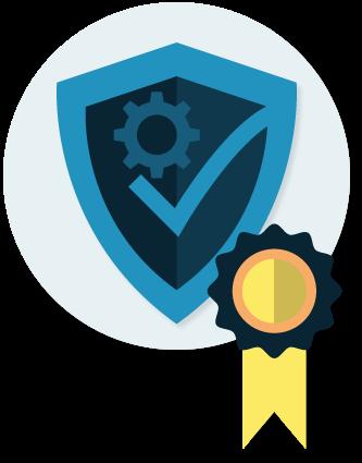 Technische Sicherheitseinrichtung Badge
